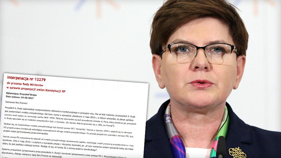 b9e2cf637 Jakiej władzy w Polsce chce premier? Interpelacja poselska